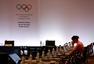 前方图:国际奥委会召开会议 巴赫主席现场主持