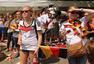 搜狐直击德国队夺冠庆典 美女球迷云集疯狂庆祝