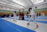 高清:北京青少年击剑赛开幕 小运动员比赛专注