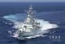 中国海军公开参与救援舰艇连夜起航现场图