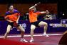 中国男双小将组合很霸气 樊振东回球如猛虎(图)