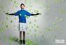 高清图:俞灏明登杂志封面 活力奔放变网球王子