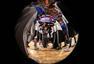 高清图:全明星训练星光熠熠 库里沃尔蒙眼投篮