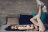 韩国健身网红嫩模撞脸Angelababy