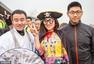 """组图:北京""""制服诱惑""""跑团上演制服大party"""