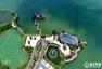航拍:生态治水造美景