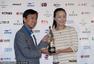 高清:彭帅获得2013中网MVP 表现力压李娜获奖