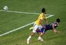 进球回放:冈崎慎司精彩鱼跃进球 日本扳平比分