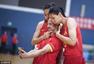 高清图: 中国女篮写真花絮 做鬼脸搞怪笑声频频