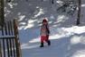 《爸爸去哪儿》最后一站 星爸萌娃雪天high玩