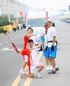 2008年7月10日,北京奥运圣火在内蒙古自治区赤峰市传递。