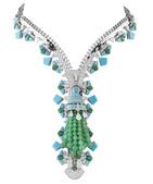 巴黎高级珠宝品牌Van Cleef & Arpels梵克雅宝镇店经典-Zip项链,拉链设计原为水手和...