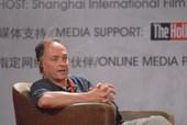 """上海电影节主席讲坛6月18日上午举行,三位导演丹尼-博伊尔,姜文,斯蒂芬-戴德利一起畅谈如何""""做简单..."""