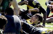 2010年5月29日,巴西队在南非约翰内斯堡进行了训练,备战南非世界杯。