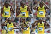 8月18日,田径 男子200米第1轮第5组比赛,尤塞恩・博尔特以20秒64的成绩位列小组第二。