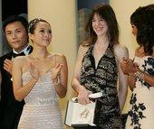 搜狐娱乐讯 2009年5月25日,戛纳,第62届戛纳电影节闭幕现场(62nd Internation...