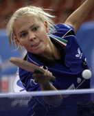 2008年10月7日,在乒球欧锦赛女团决赛中,荷兰队3-0大胜卫冕冠军匈牙利队夺冠。