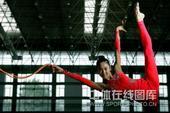 2008年北京奥运会艺术体操集体项目亚军中国队。