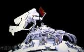 9月27日,执行神舟七号载人航天飞行出舱活动任务的航天员翟志刚成功出舱漫步。