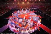 10月28日,第十一届全国运动会闭幕式在山东济南举行。