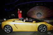 2008年12月20日,中国广州,广州丽柏广场举行5周年庆典盛大派对,众多明星(包括郭富城和刘嘉玲)...