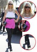 近日在美国洛杉矶,豪门女帕丽斯・希尔顿(Paris Hilton)前往BLD餐厅拍摄真人秀节目。身穿...