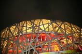 8月24日,北京奥运会闭幕。作为北京奥运会主体育场的鸟巢迎来一个不眠之夜。搜狐体育 龚宇/摄