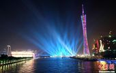 10月20日,亚运开幕式进行了首次综合彩排,近万名观众在绚丽灯光环绕下的海心沙小岛上,一睹其惊艳、创...