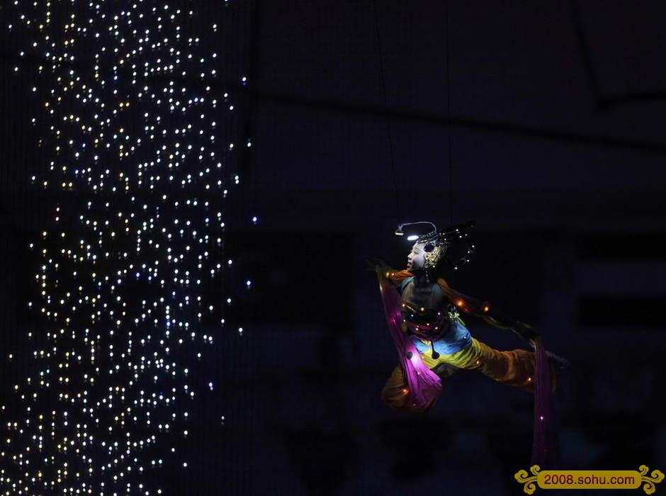 真实的奥运开幕式盛况,贴2008北京奥运开幕式图片,绝对震撼! - 梦之想 - LI58889