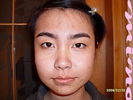 娱乐图片库 组图 丑女变美女神奇的化妆术图片