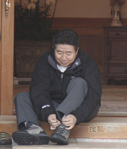 韩国前总统卢武铉生前未公开的生活照片