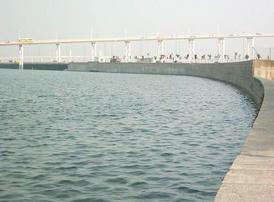 南湾人工湖